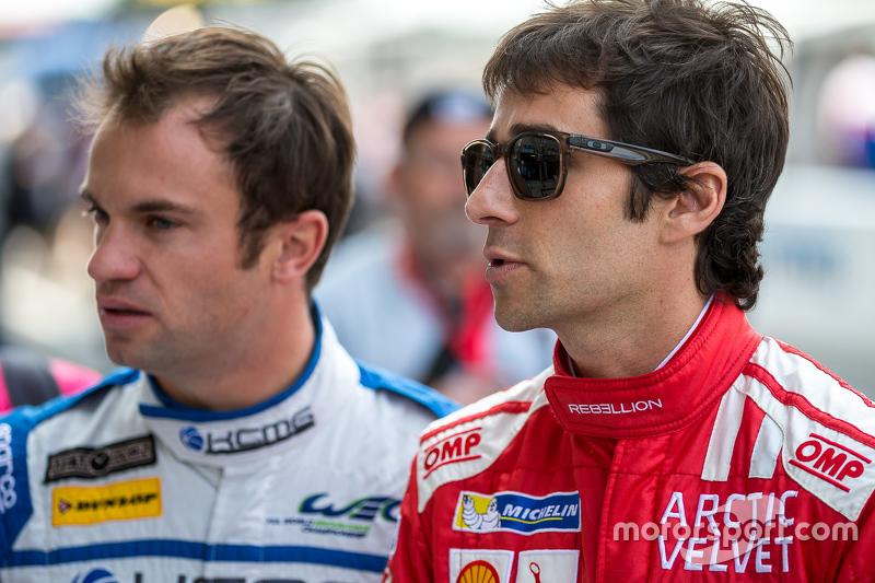 Rebellion Racing: Nicolas Prost and KCMG: Nicolas Lapierre