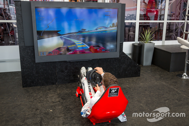 Nissan Motorsports: Alex Buncombe on the Playstation