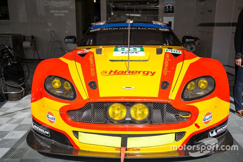 #99 Aston Martin Racing, V8 Aston Martin Vantage GTE