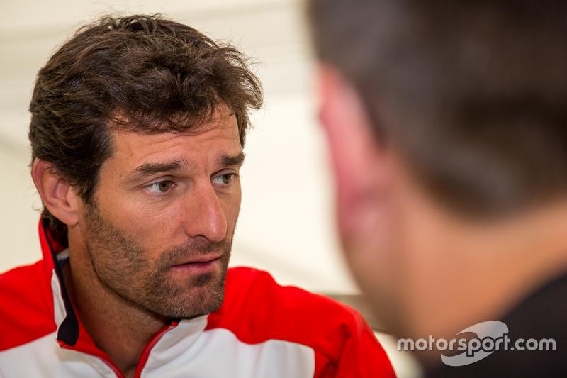 Porsche Team: Mark Webber