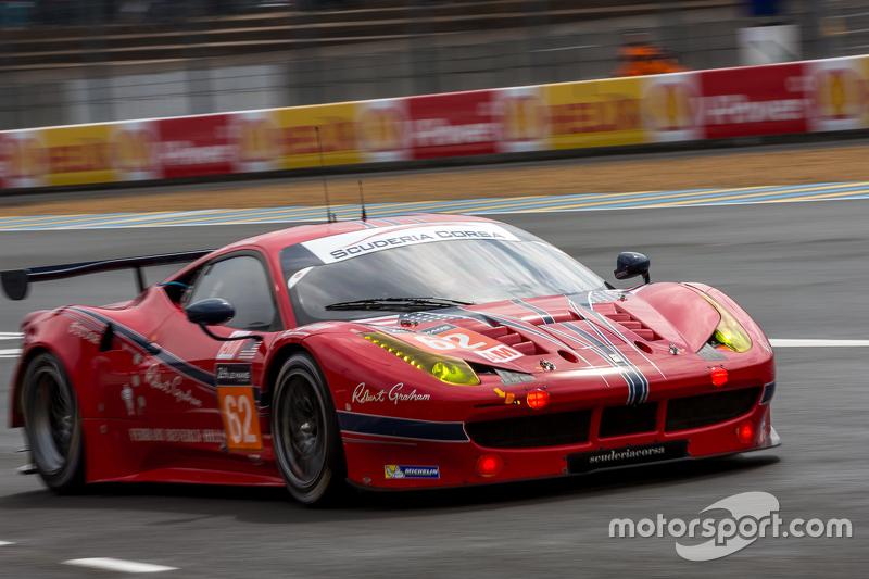 #62 Scuderia Corsa Ferrari 458 GTE: Білл Свідлер, Таунсенд Белл, Джефф Сегал