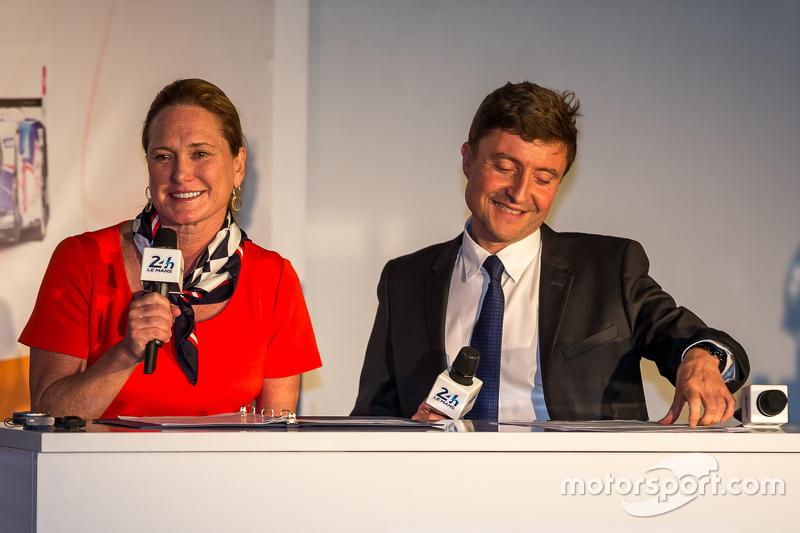 ACO-Pressekonferenz mit Lesa France Kennedy über
