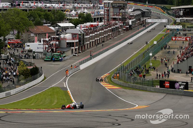 2. Runde; #4 Oliver Rowland, Fortec Motorsport