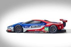 O novo Ford GT que vai correr em Le Mans