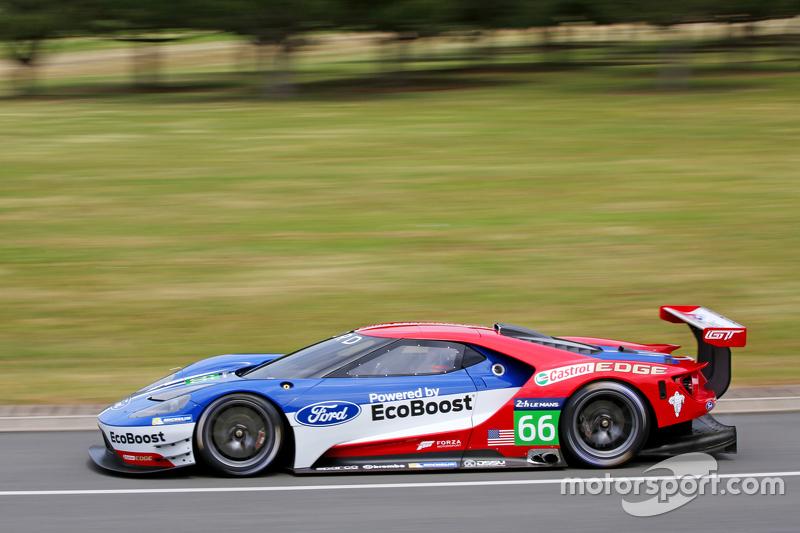 Der neue Ford GT für den Einsatz in Le Mans