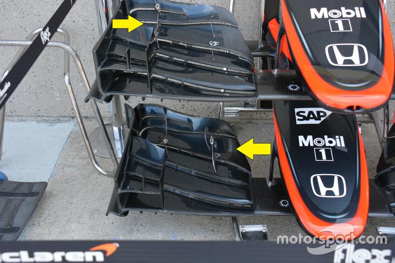 McLaren MP4-30 detail