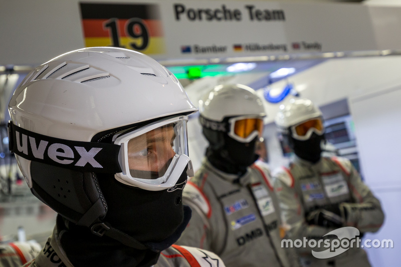 Porsche Team, Boxencrew