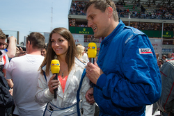 RTL presenter and race car driver Cyndie Allemann