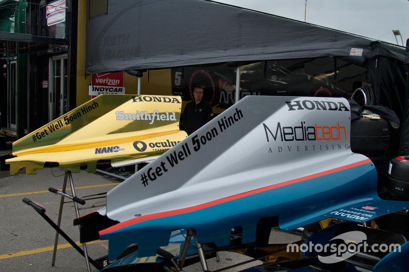Schmidt Peterson Motorsports, Teambereich