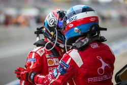 #12 Rebellion Racing Rebellion R-One: Nicolas Prost wisselt met Nick Heidfeld