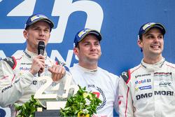 Porsche Team: Нико Хюлькенберг, Ник Тэнди и Эрл Бамбер