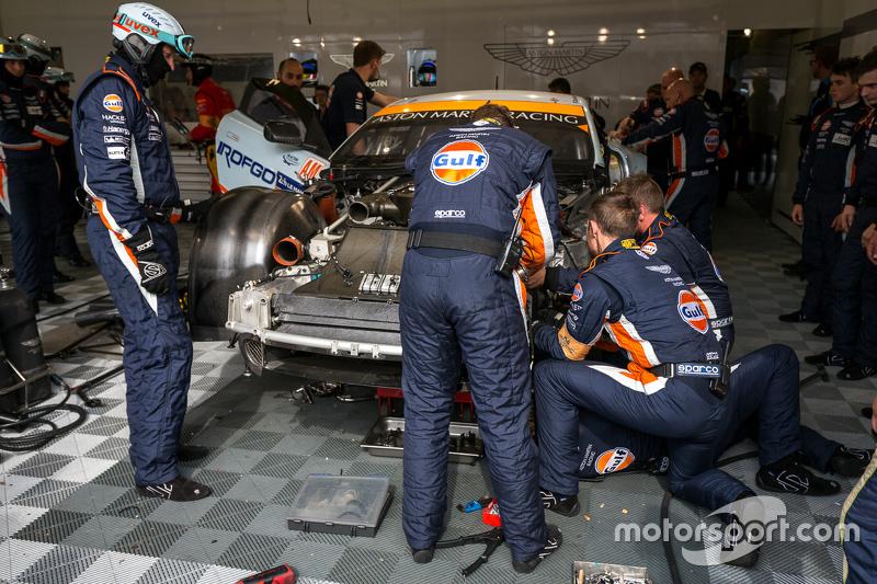 #96 Aston Martin Racing, Aston Martin Vantage GTE: Francesco Castellacci, Roald Goethe, Stuart Hall