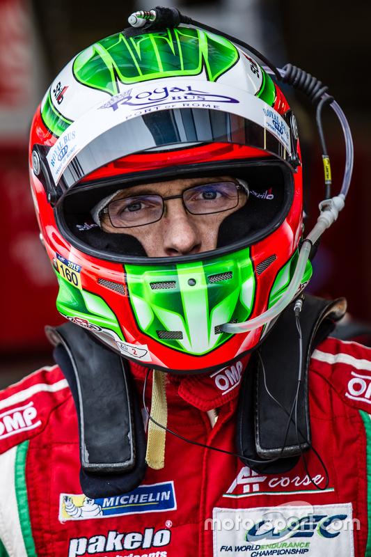#61 AF Corse, Ferrari 458 GTE: Raffaele Giammaria