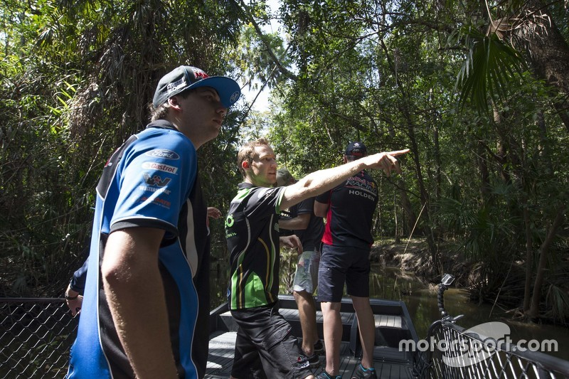 Chaz Mostert, Prodrive Racing Australia, Ford, und David Reynolds, Rod Nash Racing, Ford