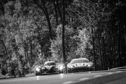 #42 Strakka Racing, Strakka-Dome S103: Nick Leventis, Jonny Kane, Danny Watts und #55 AF Corse, Ferrari 458 GTE: Duncan Cameron, Matt Griffin, Alexander Mortimer