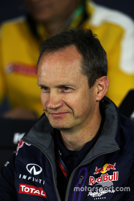 Paul Monaghan, Red Bull Racing na coletiva de imprensa da FIA