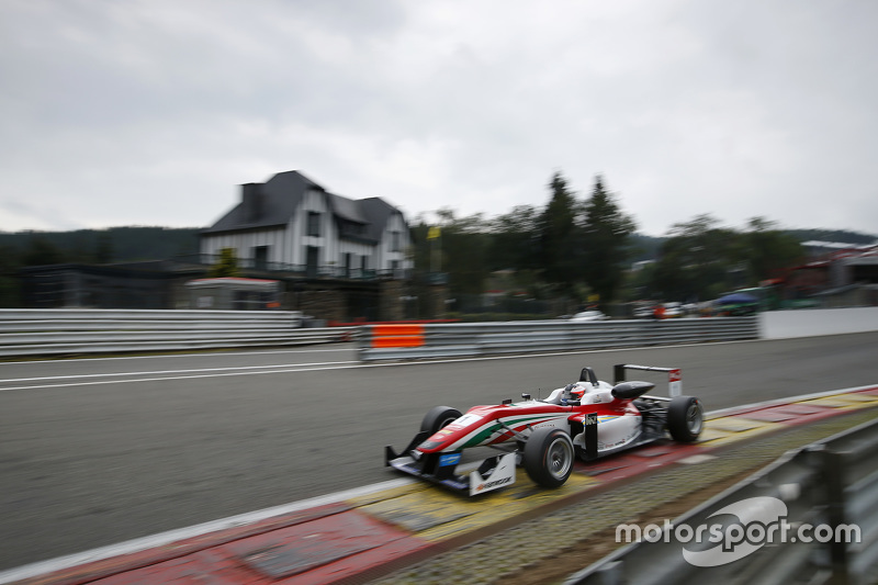Felix Rosenqvist, Prema Powerteam, Dallara F312 Mercedes-Benz