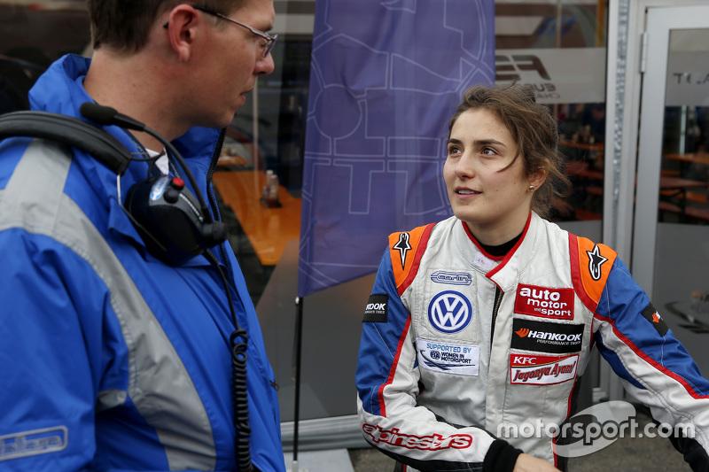 Tatiana Calderon, Carlin, Dallara F312 Volkswagen