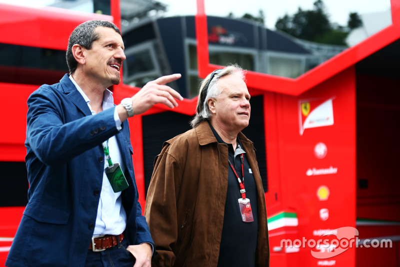 Guenther Steiner, Haas F1 Team Principal with Gene Haas, Haas Automotion President
