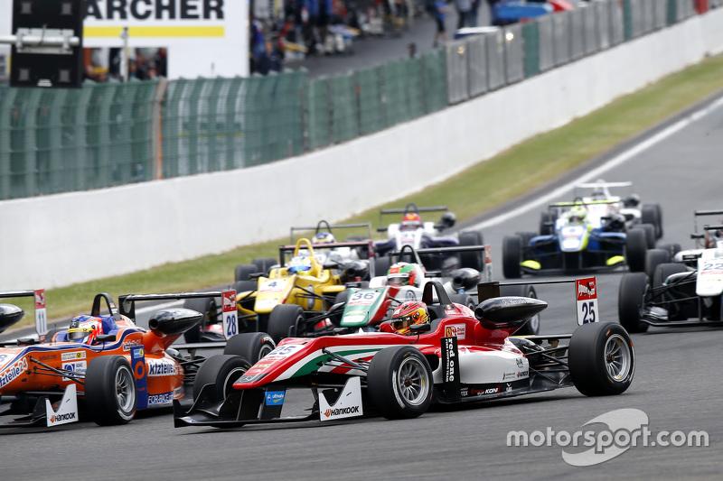 Lance Stroll, Prema Powerteam, Dallara F312 Mercedes-Benz