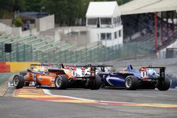 Michele Beretta, Mücke Motorsport, Dallara F312 Mercedes-Benz, dan Tatiana Calderon, Carlin, Dallara