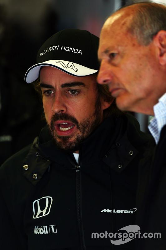 Fernando Alonso, McLaren, mit Ron Dennis, McLaren-Geschäftsführer