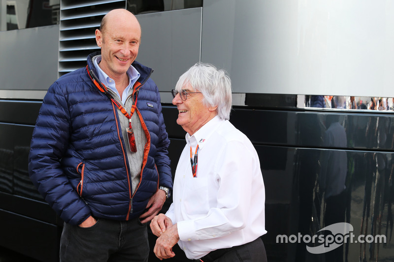 Donald Mackenzie, CVC Capital Partners Managing Partner, Co Head dari Global Investments bersama Bernie Ecclestone,