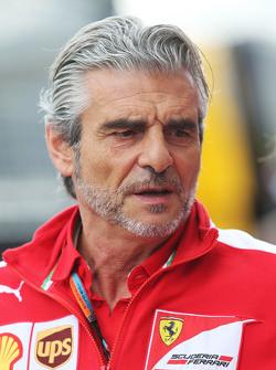 Maurizio Arrivabene, Ferrari Team