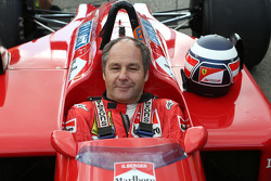 Gerhard Berger, Ferrari F1/87-88C alla Parata delle Leggende