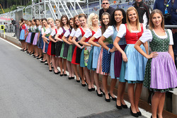 Chicas Formula Una girls
