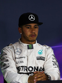 Lewis Hamilton, Mercedes AMG F1 di FIA Press Conference