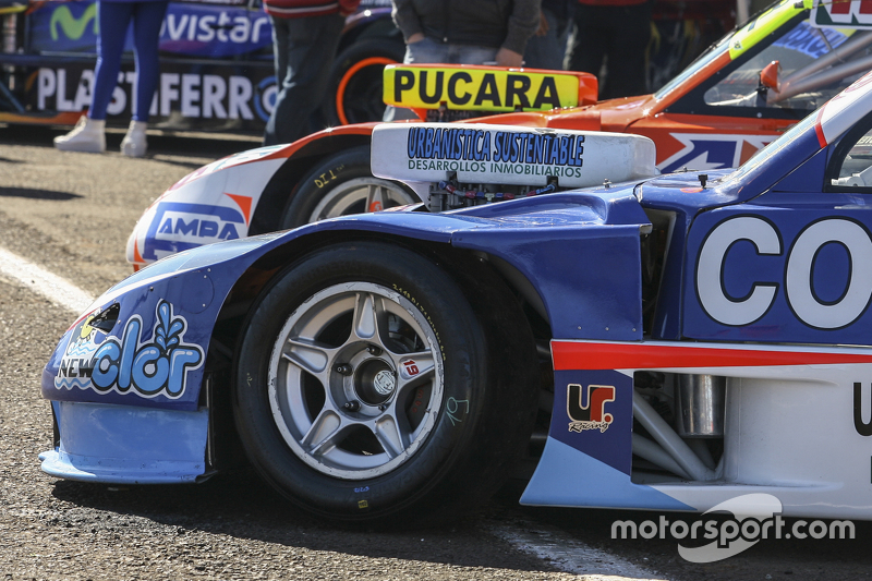 Матіас Родрігес, UR Racing Dodge та Джонатан Кастеллано, Castellano Power Team Dodge (front to rear)