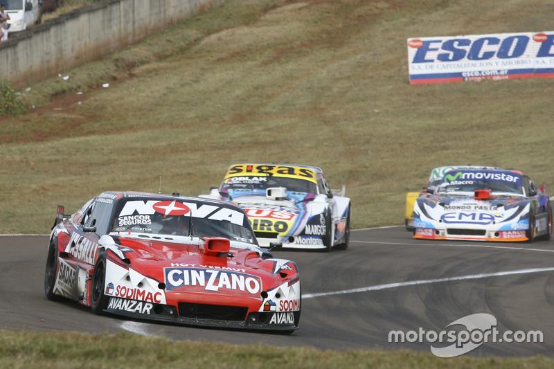 Matias Rossi, Donto Racing, Chevrolet; Mauricio Lambiris, Coiro Dole Racing, Torino, und Christian L