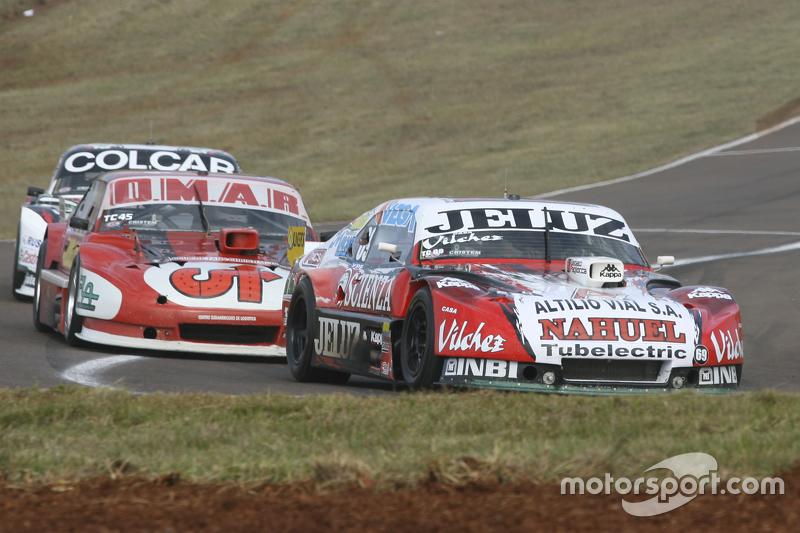 Pedro Gentile, JP Racing, Chevrolet; Christian Dose, Dose Competicion, Chevrolet, und Gaston Mazzaca