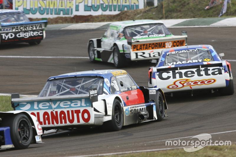 Santiago Mangoni, Laboritto Jrs, Torino; Matias Rodriguez, UR Racing, Dodge, und Luis Jose di Palma,