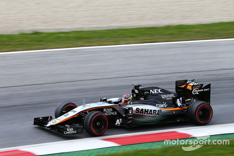 Pascal Wehrlein, Sahara Force India F1 VJM08 Test Driver