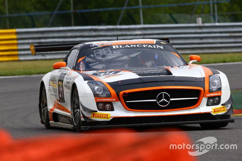 #34 Car Collection Motorsport, Mercedes SLS AMG GT3: Peter Schmidt, Miguel Toril, Kenneth Heyer, Jan