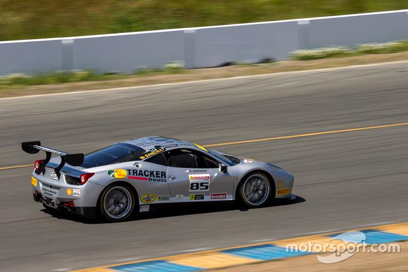 #85 Ferrari of дляt Lauderdale Ferrari 458: Steve Johnson