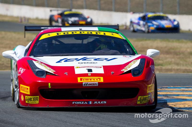 #1 Ferrari of Houston, Ferrari 458: Ricardo Perez