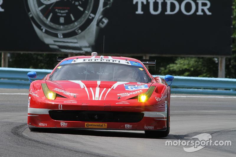 #63 Scuderia Corsa, Ferrari 458 Italia: Bill Sweedler, Townsend Bell