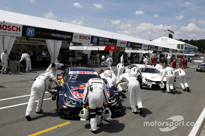 Antonio Felix da Costa, BMW Team Schnitzer BMW M4 DTM and Martin Tomczyk, BMW Team Schnitzer BMW M4 DTM