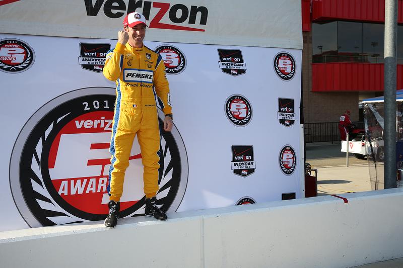 Pole-Sitter: Simon Pagenaud, Team Penske, Chevrolet