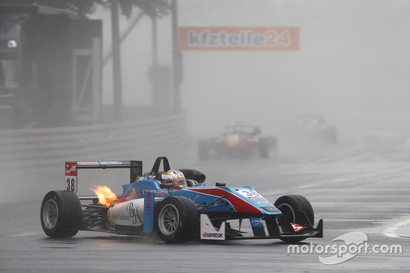 38 Raoul Hyman, Team West-Tec F3, Dallara F312 - Mercedes-Benz