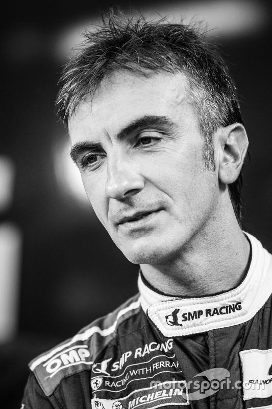 #72 SMP Racing, Ferrari 458 GTE: Andrea Bertolini
