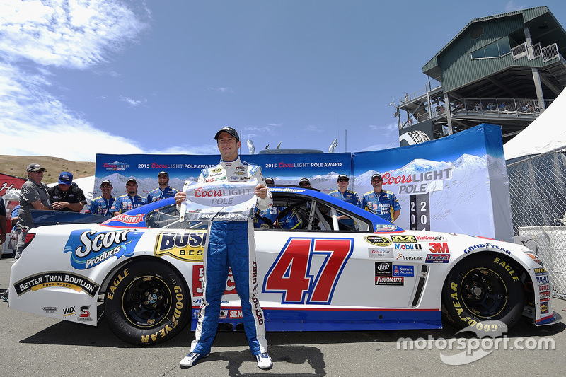 Pole-Sitter: A.J. Allmendinger, JTG Daugherty Racing, Chevrolet