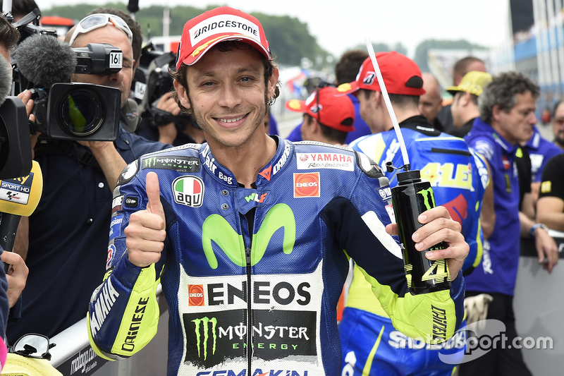 Pole-Sitter: Valentino Rossi, Yamaha Factory Racing