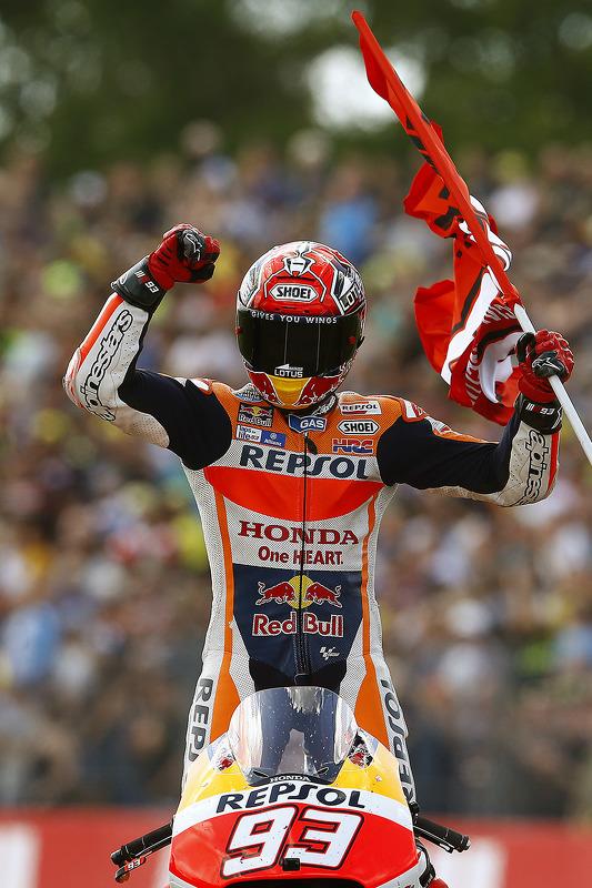 Segunda colocação Marc Marquez, Repsol Honda Team