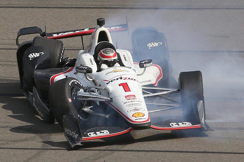 Will Power, Team Penske Chevrolet kecelakaan