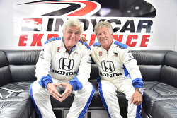 Jay Leno and Mario Andretti