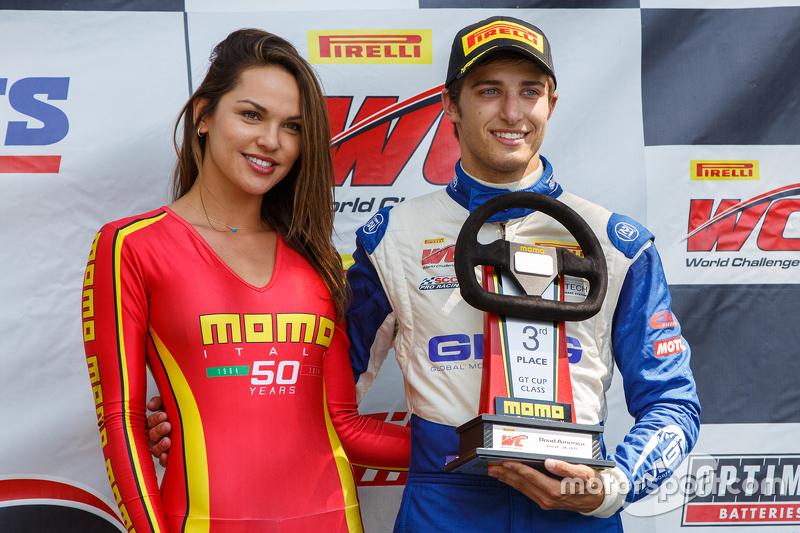 3. #17 Global Motorsports Group, Porsche 911 GT3 Cup: Alec Udell